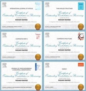Outstanding Reviewer in Elsevier Journals – comreslab ut ac ir